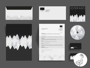 ESTER KAO corporate design